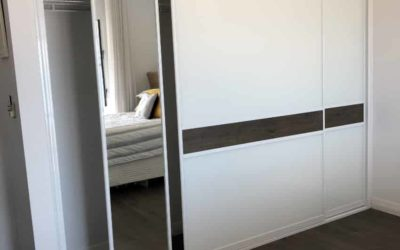Secret Mirror Sliding Door